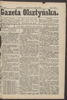 Gazeta Olsztyńska, 1912, nr 102