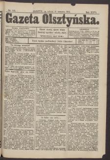 Gazeta Olsztyńska, 1912, nr 103