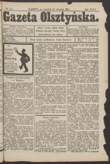 Gazeta Olsztyńska, 1912, nr 111