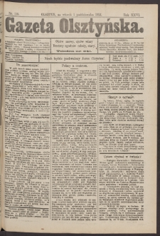 Gazeta Olsztyńska, 1912, nr 116