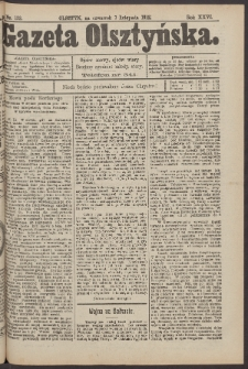 Gazeta Olsztyńska, 1912, nr 132