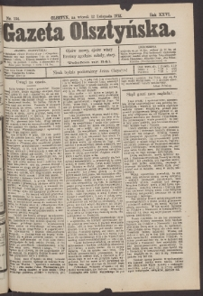 Gazeta Olsztyńska, 1912, nr 134