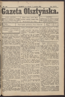 Gazeta Olsztyńska, 1912, nr 149