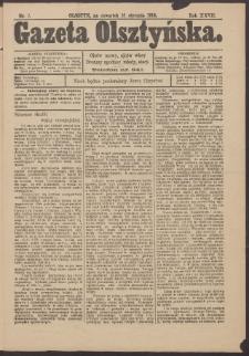 Gazeta Olsztyńska, 1913, nr 7
