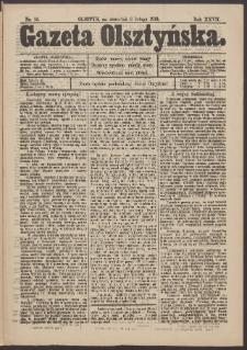 Gazeta Olsztyńska, 1913, nr 16