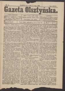 Gazeta Olsztyńska, 1913, nr 17