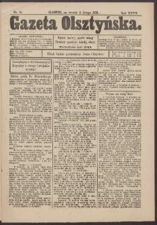 Gazeta Olsztyńska, 1913, nr 18