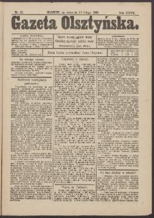 Gazeta Olsztyńska, 1913, nr 22