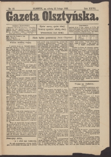 Gazeta Olsztyńska, 1913, nr 23