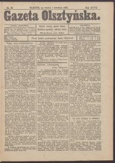 Gazeta Olsztyńska, 1913, nr 38