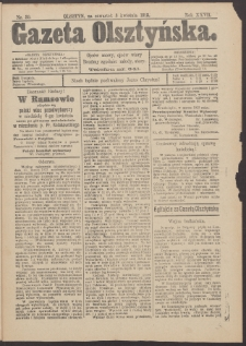 Gazeta Olsztyńska, 1913, nr 39