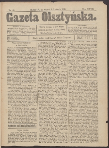 Gazeta Olsztyńska, 1913, nr 41