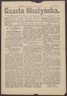 Gazeta Olsztyńska, 1913, nr 45