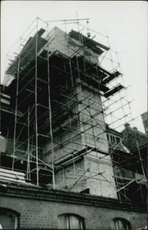 Budowa wyciągu szybowego w szpitalu mrągowskim