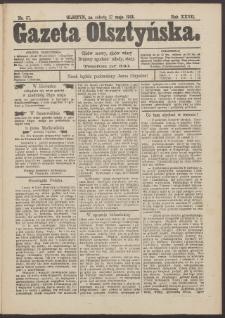 Gazeta Olsztyńska, 1913, nr 57