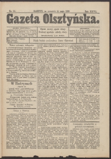 Gazeta Olsztyńska, 1913, nr 59
