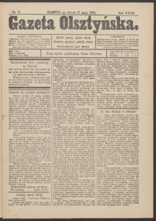 Gazeta Olsztyńska, 1913, nr 61