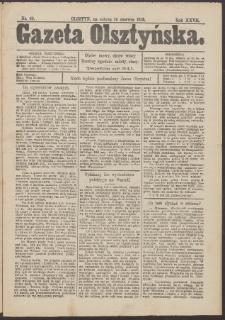 Gazeta Olsztyńska, 1913, nr 69