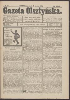 Gazeta Olsztyńska, 1913, nr 72