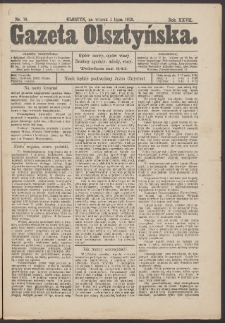 Gazeta Olsztyńska, 1913, nr 76