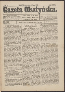 Gazeta Olsztyńska, 1913, nr 78