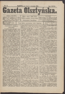 Gazeta Olsztyńska, 1913, nr 91