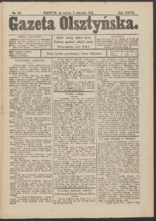 Gazeta Olsztyńska, 1913, nr 93