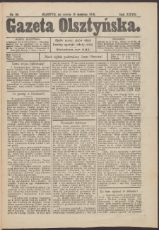 Gazeta Olsztyńska, 1913, nr 96