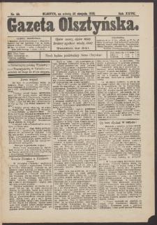 Gazeta Olsztyńska, 1913, nr 99
