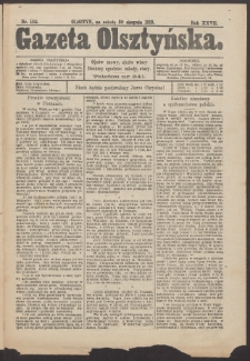 Gazeta Olsztyńska, 1913, nr 102