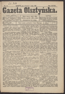 Gazeta Olsztyńska. 1914, nr 54