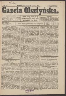 Gazeta Olsztyńska. 1914, nr 72
