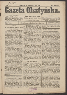Gazeta Olsztyńska. 1914, nr 77