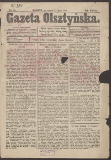 Gazeta Olsztyńska. 1914, nr 85