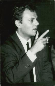 Donald Tusk w Mrągowie 1989