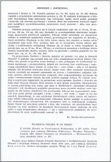Filozofia polska w XV wieku : [recenzja]
