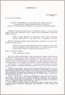 Sprawy warmińskie i krzyżackie we włocławskim egzemplarzu piętnastowiecznego wydania listów kardynalskich Eneasza Sylwiusza Piccolominiego