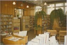 [Wypożyczalnia Miejskiej Biblioteki Publicznej w Olsztynie przy ul. Jagiellońskiej – filia nr 14]