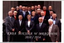 Rada Miejska w Mrągowie, kadencja 2010-2014