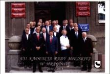 Rada Miejska w Mrągowie, kadencja 2014-2018