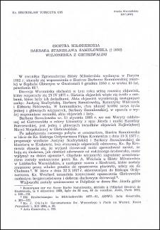 Siostra Miłosierdzia Barbara Stanisława Samulowska (†1950) wizjonerka z Gietrzwałdu