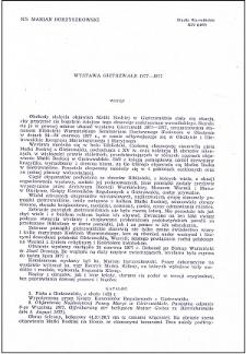 """Wystawa """"Gietrzwałd 1877-1977"""""""