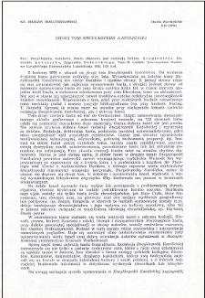 "Drugi tom ""Encyklopedii Katolickiej"" : [recenzja]"