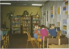 [Zajęcia z dziećmi w Miejskiej Bibliotece Publicznej w Szczytnie. 1]