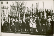 [Uroczystość na Placu Zwycięstwa w Mrągowie. 8]