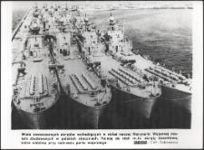 [Polskie okręty desantowe przy nabrzeżu]