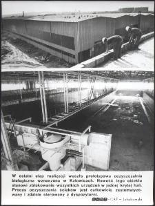 [Budowa biologicznej oczyszczalni ścieków w Katowicach]