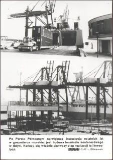 [Na budowie terminalu kontenerowego w Gdyni]