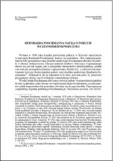 Bernharda Poschmanna nauka o pokucie wczesnośredniowiecznej