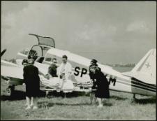 [Transport pacjenta drogą lotniczą. 3]